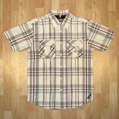 10 deep non stop short sleeve button down