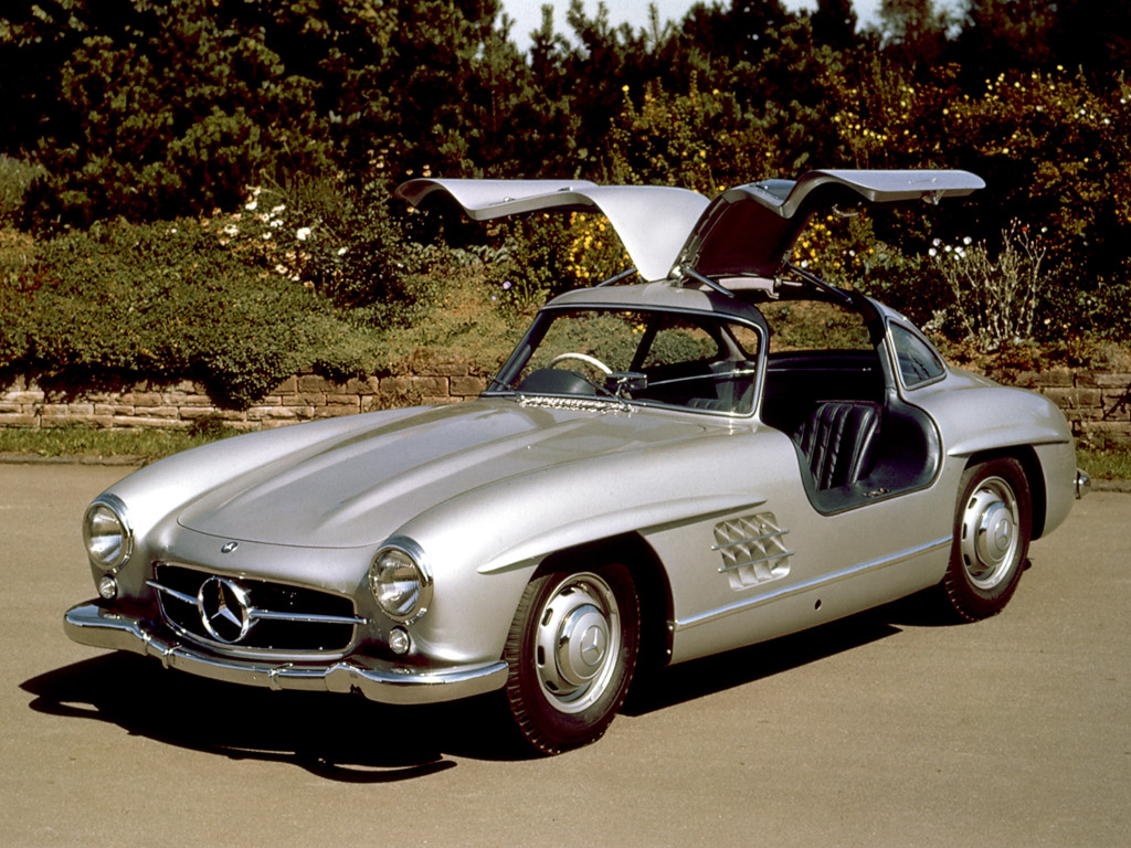Mercedes Benz 300 Sl Coupe Fa Do 1024X768