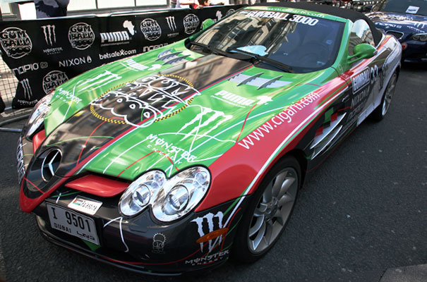 gumball 3000 � cars of the middle east emirates in style